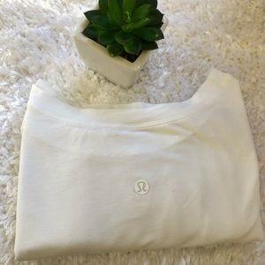 Lululemon Plain White T Shirt